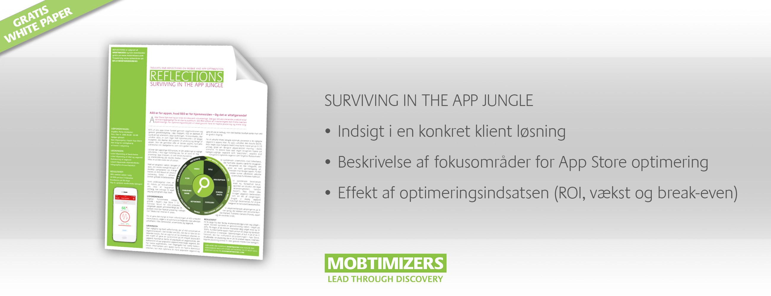 App Store Optimering rapport - indsigter i en ASO kundeløsning