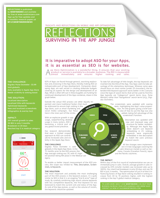 App Store Optimization White Paper: Surviving in the App Jungle