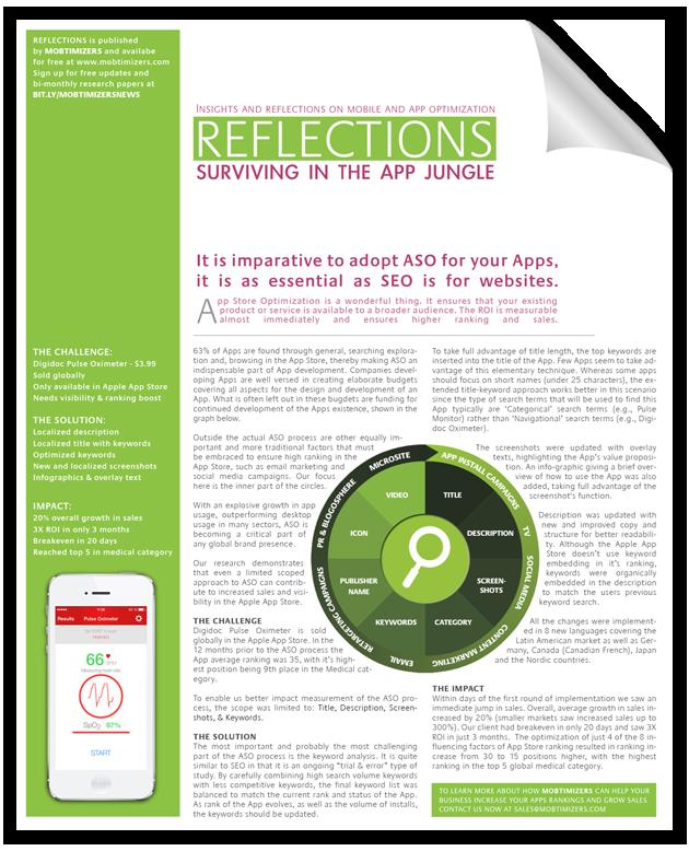 App Store Optimization White Paper: Surviving in the App Jungle
