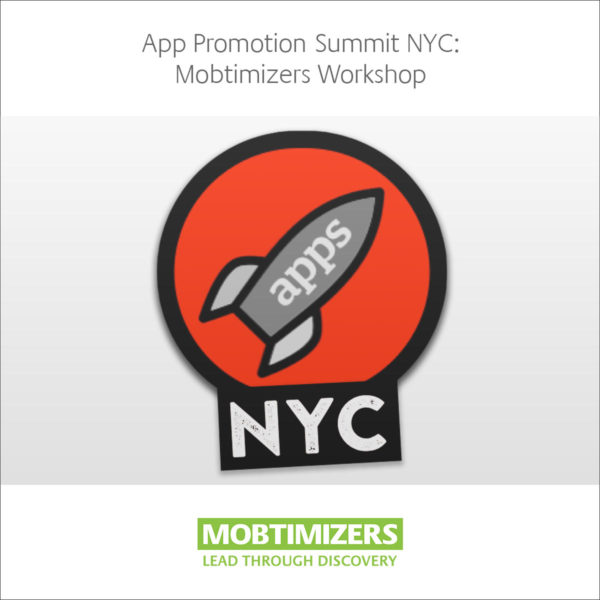 Discount rebate code for APS NYC 2017 App Promotion Summit Workshop