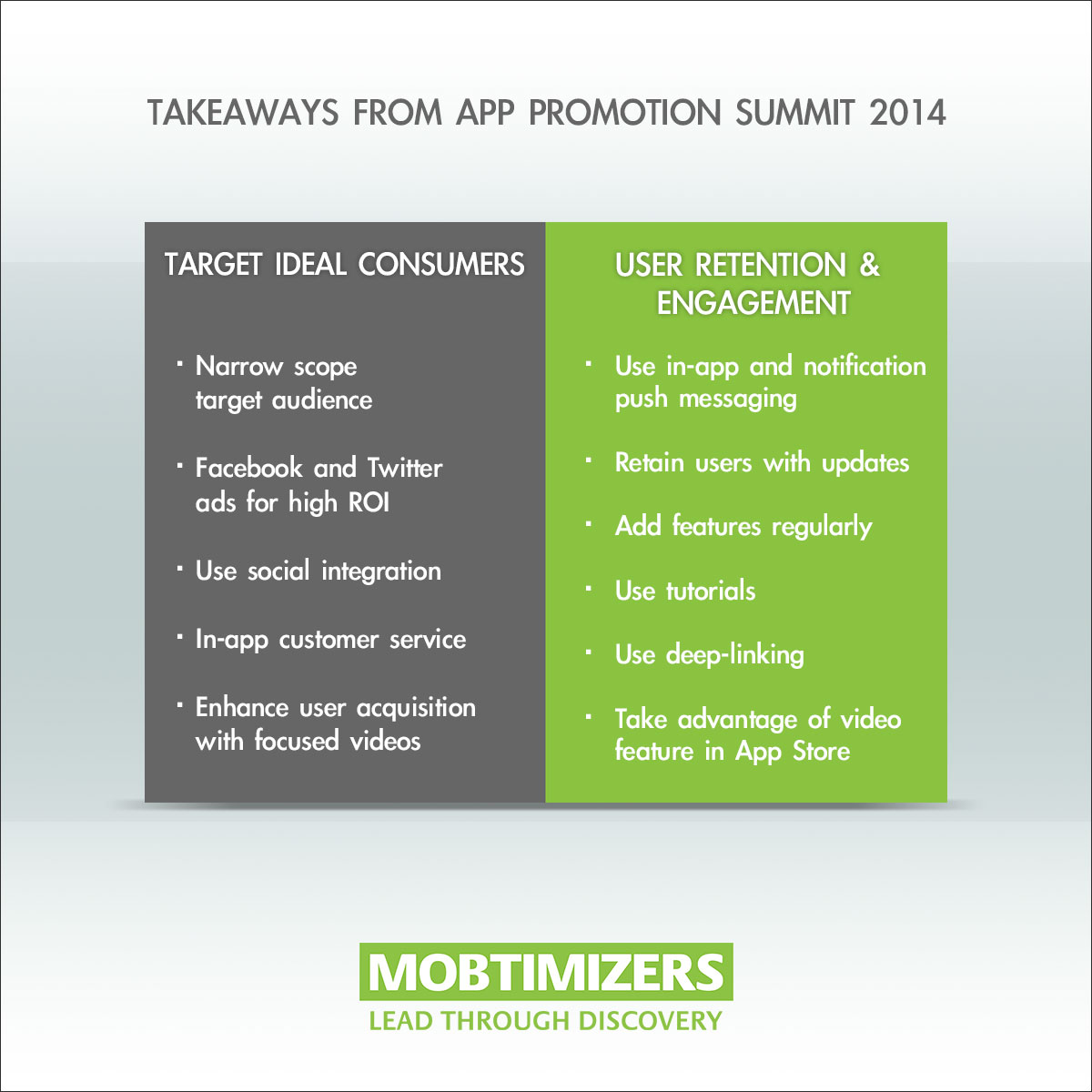 Takeaways from App Promotion Summit 2014.