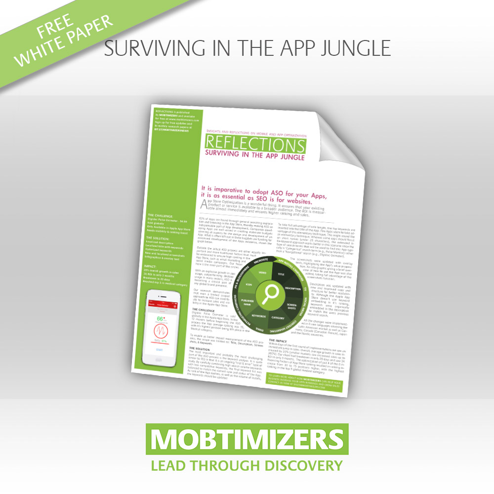 White Paper: App Store Optimization Basics Graphic