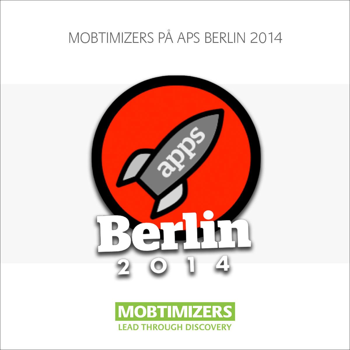 App Markedsføring paa APS Berlin 2014