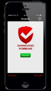 Borgertip app