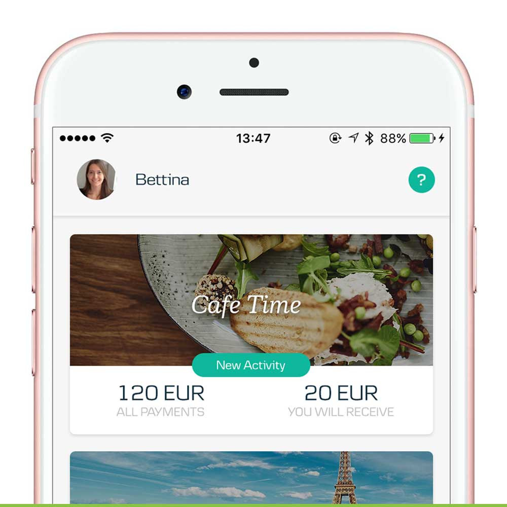 weshare by mobilepay app store optimization and app trailer